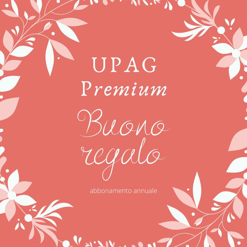 Buono regalo - Abbonamento annuale UPAG Premium